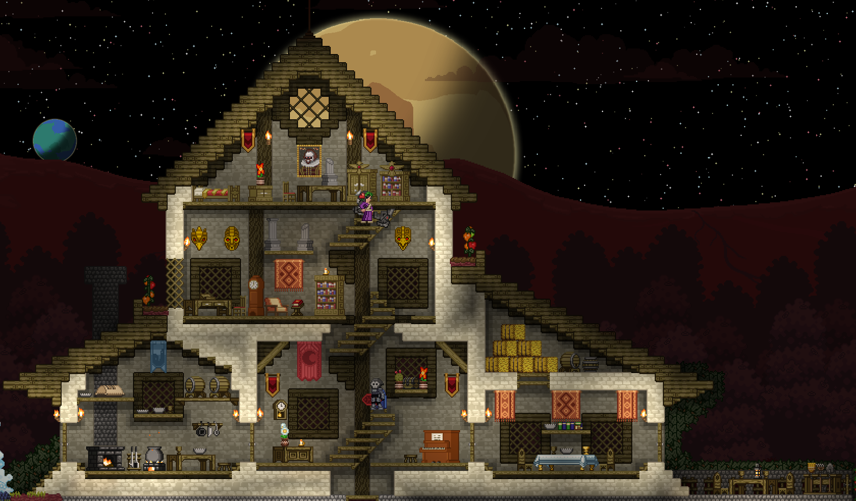 Building ship show off your house d page 55 chucklefish forums Build my home