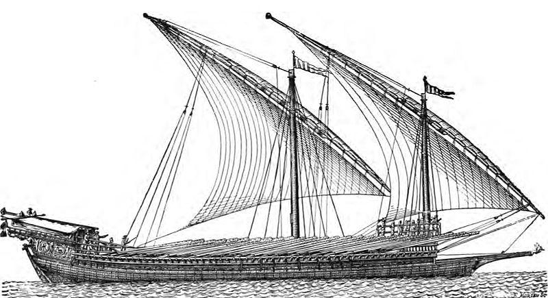 leicht bewaffnetes kriegsschiff