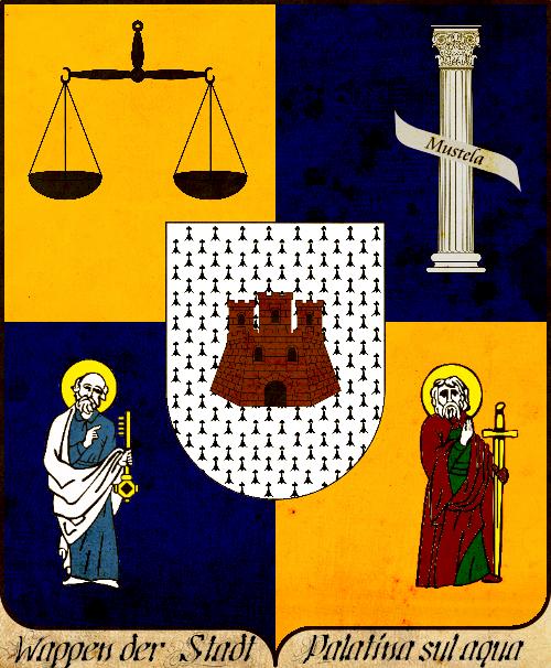 Wappen der Stadt Palatina